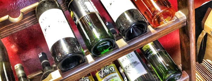 Vasilaki Şarap Mağazası is one of Melis Bozcaada.