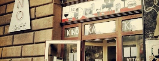 Kino Café is one of Posti salvati di Krisztina.