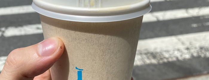Blue Bottle Coffee is one of NYC food.