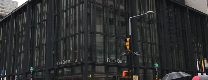 Fulton Center is one of Tempat yang Disukai Erik.