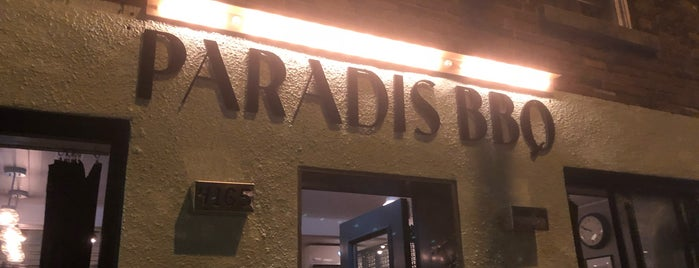 Paradis BBQ is one of Montréal curated by Francis B.