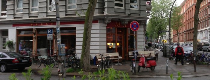 Café May is one of Hamburg.