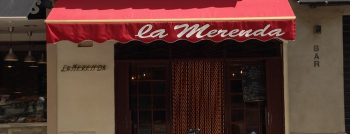 La Merenda is one of Dinner in Cote d'Azur.