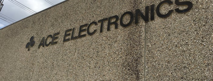 Ace Electronics is one of Marky : понравившиеся места.