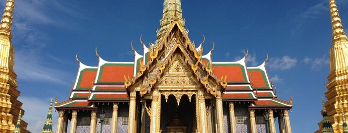 Temple of the Emerald Buddha is one of Rob & Bec Visit Bangkok.