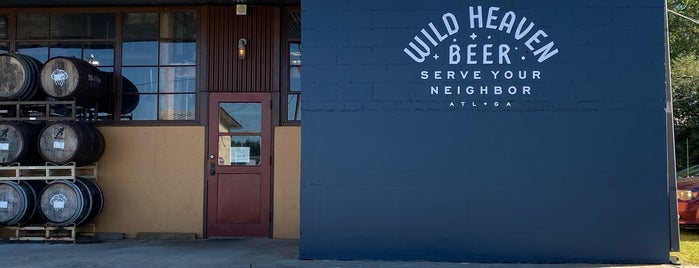 Wild Heaven Beer is one of Ga Local Breweries.