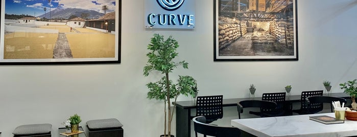 Curve Roastery is one of Cafes.