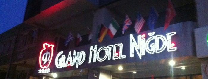 Grand Otel Niğde is one of Lieux qui ont plu à Kadir.