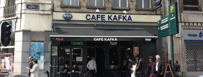 Café Kafka is one of Locais salvos de Stefan.