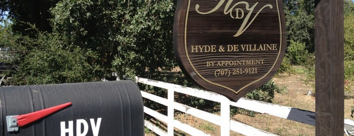 HdV Winery is one of napa.