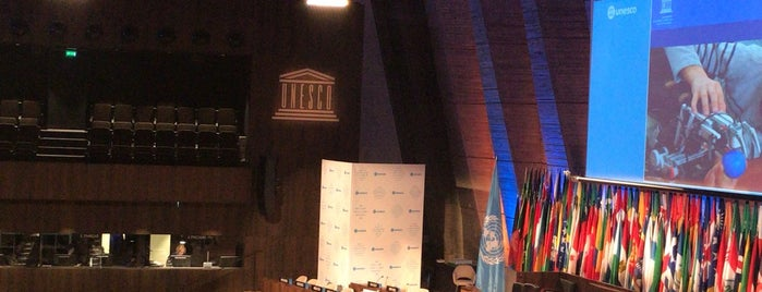 Grand Auditorium de l'UNESCO is one of Europe: 3months business trip '15.