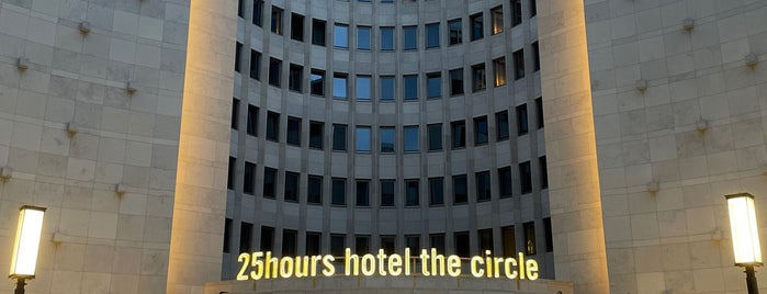 25Hours Hotel The Circle is one of Köln ✌️.