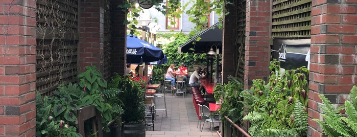 Charlie's Beer Garden is one of Bars.