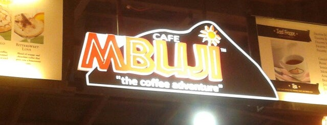 Mbuji Cafe is one of Kopi Places.