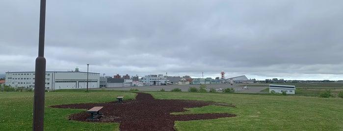丘珠空港緑地 is one of i☮b •さんの保存済みスポット.