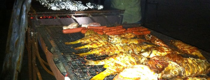 Hulhumale' BBQ Point is one of Maldives - The Sunny Side of Life.