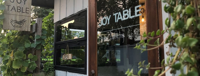 Joy Table - Home cooking cafe is one of Wanna getting there..