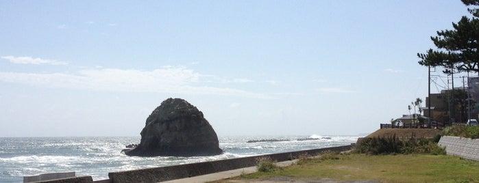 二ツ島 is one of 茨城県北ジオパークのジオサイト.