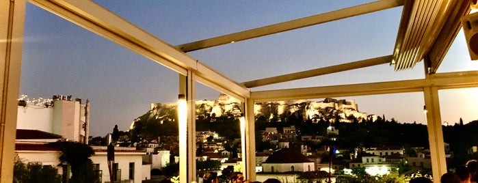 Ms Roof Garden is one of Athens.