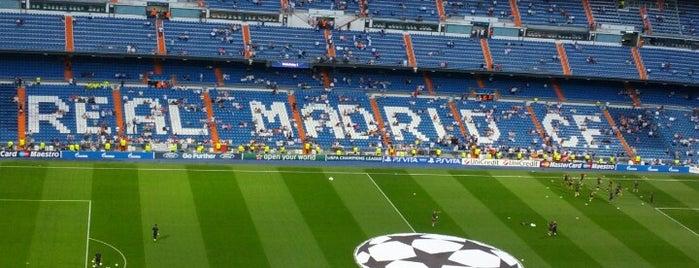 Estadio Santiago Bernabéu is one of Spain.