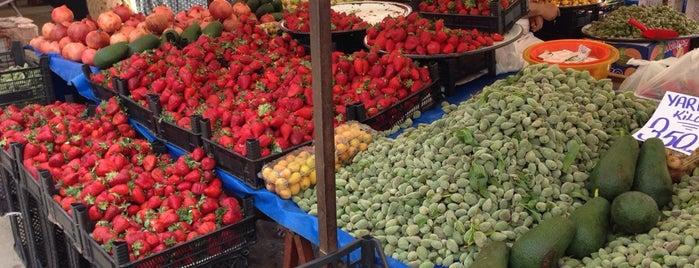 manavgat cumartesi pazarı is one of สถานที่ที่ Yılmaz ถูกใจ.
