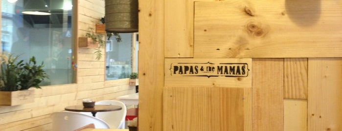 Papas & The Mamas is one of Poblenou.