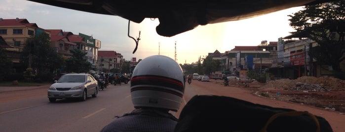 Siem Reap | ក្រុងសៀមរាប is one of Cambodia.