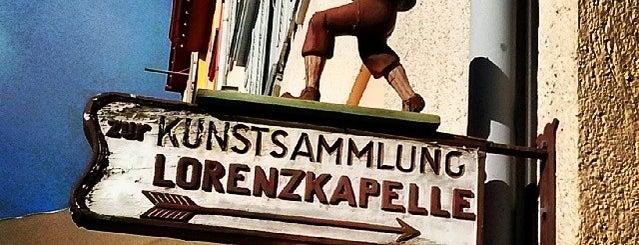 Kunstsammlung Lorenzkapelle, Bockshof, Pulverturm is one of Historische Innenstadt Rottweil.