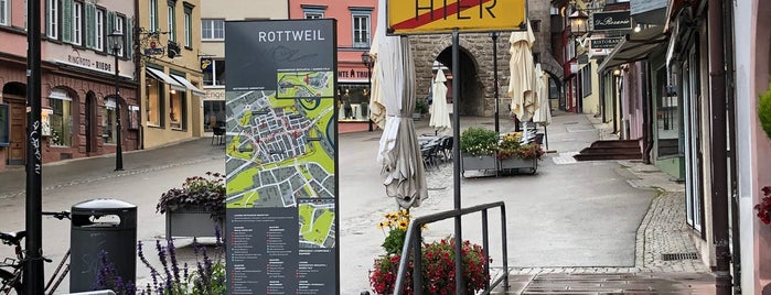 Tourist-Information Rottweil is one of Historische Innenstadt Rottweil.