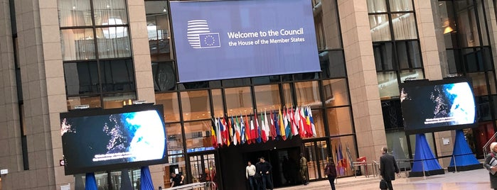 European Council - Council of the European Union is one of Brussels City Badge - Brusseleir.
