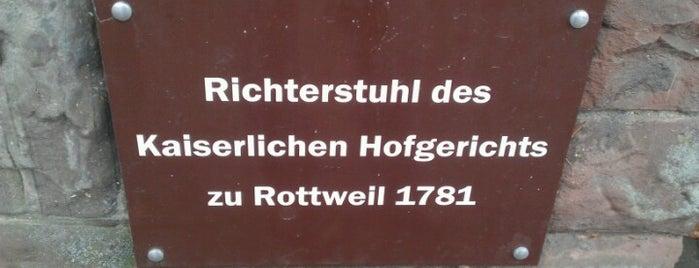 Hofgerichtsstuhl is one of Historische Innenstadt Rottweil.