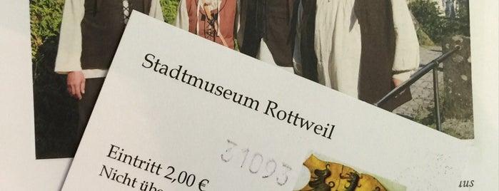 Stadtmuseum Rottweil is one of Historische Innenstadt Rottweil.