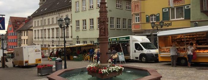 Brunnen am Alten Rathaus (Apostelbrunnen) is one of Historische Innenstadt Rottweil.
