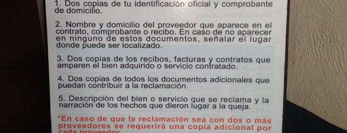 Procuraduría Federal Del Consumidor. Delegación Centro is one of สถานที่ที่ Penelope ถูกใจ.