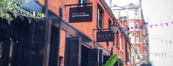Ice Cream Union is one of london list.