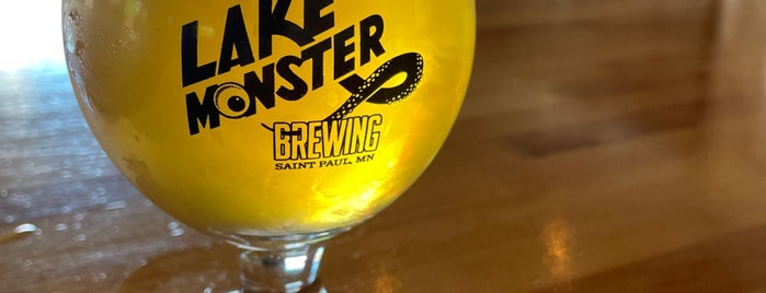 Lake Monster Brewing is one of Brewery List.