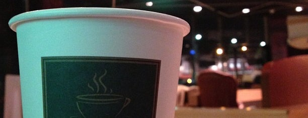 dr.CAFE COFFEE is one of Lugares favoritos de Abdullah.