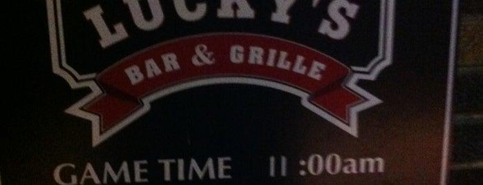 Lucky's Bar & Grille is one of Locais curtidos por NoirSocialite.