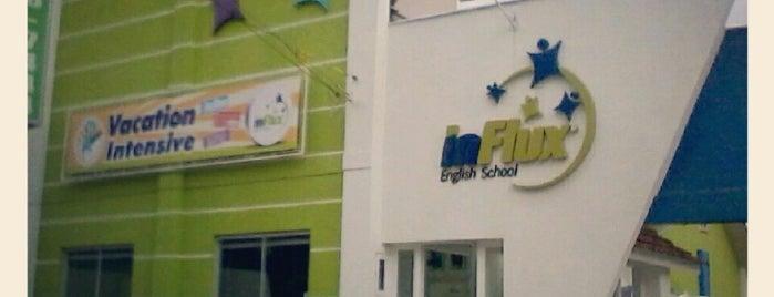 InFlux English School is one of Alexandre : понравившиеся места.