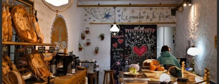 Le Moulin de la Fleur is one of Coffee & Tea.