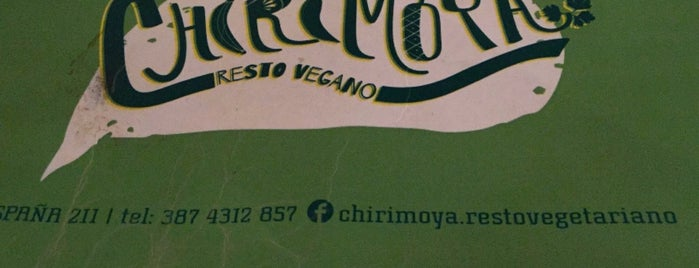 Chirimoya is one of Todavía no fui..