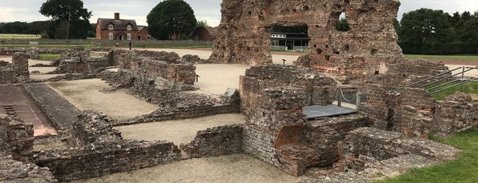 Wroxeter Roman City is one of Carl : понравившиеся места.