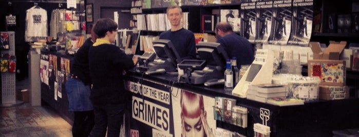 Rough Trade East is one of Let's go to London!.