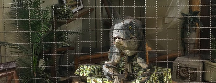 Jurassic Outfitters is one of Universal Studios Japan.