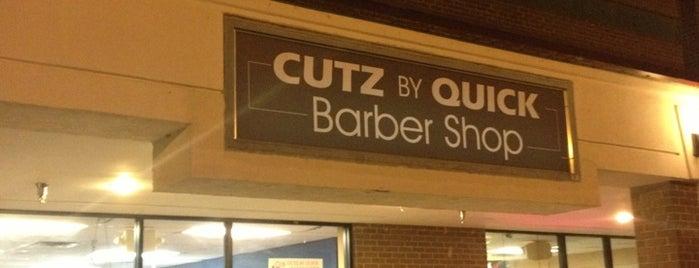 CUTZ By Quick Barbershop is one of Elisa : понравившиеся места.