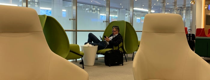 Skyteam Lounge is one of Posti che sono piaciuti a Samah.