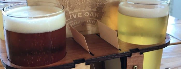 Live Oak Brewery is one of Austin, TX.