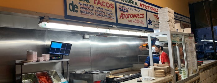 Atotonilcos is one of Every Taco in Chicago.