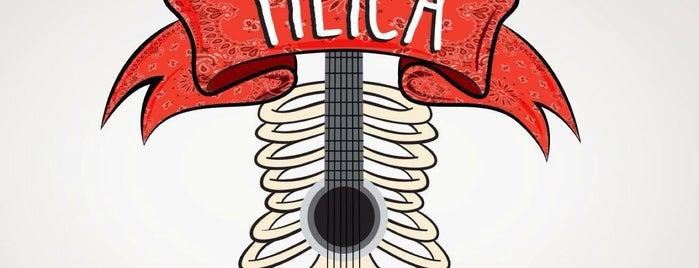 TILICA is one of Tour Gordo Mty 2013.