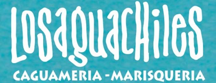 Los Aguachiles is one of Tempat yang Disukai Arantxa.